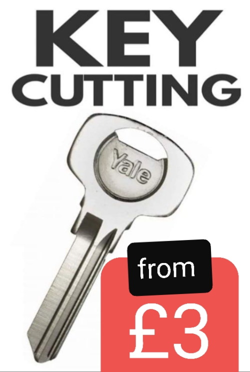 Key cutting from £2